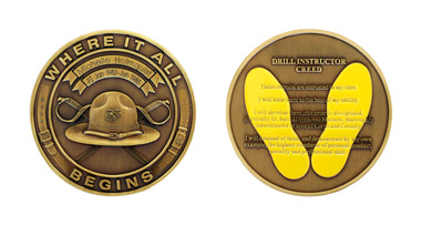 military coin design template - medals to honor di coin
